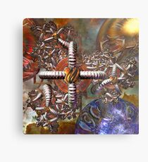 Three Part Harmony Metal Print