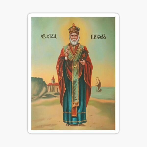 St. Nicholas Sticker
