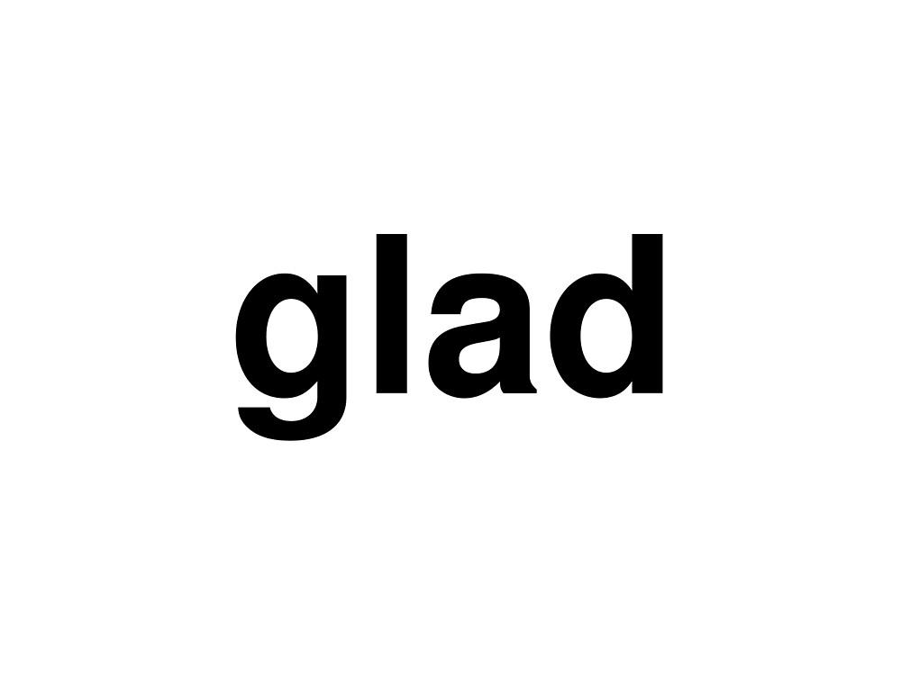 glad by ninov94
