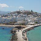Naxos Town by Martin  Hazelgrave