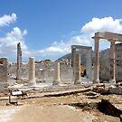 Naxos, Temple of Demetrius by Martin  Hazelgrave