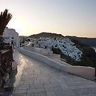Silent Santorini  by Martin  Hazelgrave