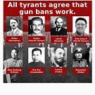 Tyrants Love Gun Control by Sarah Corriher / Health Wyze Media