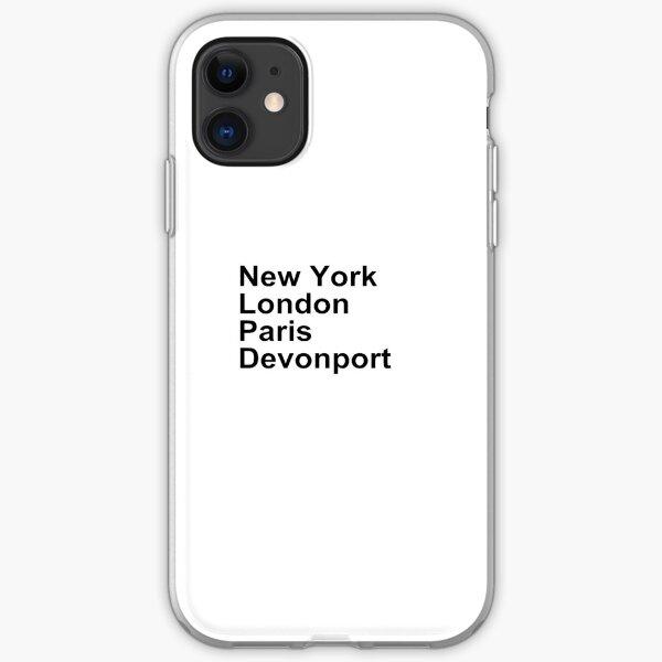New York London Paris Coles Bay iPhone Soft Case