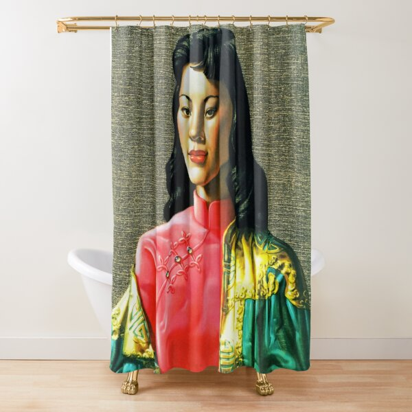 Vladimir Tretchikoff Miss Wong Fine Art Print Shower Curtain