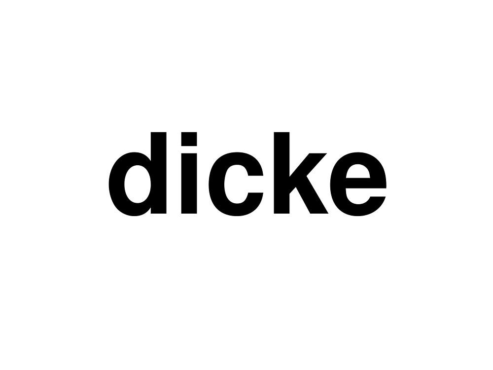 dicke by ninov94