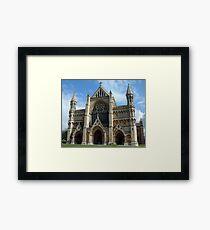 St Albans Cathedral 2 Framed Print