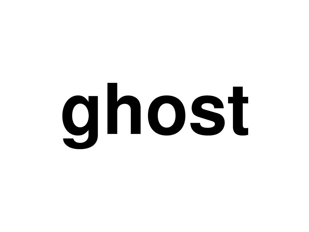 ghost by ninov94