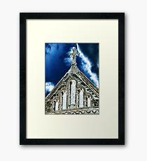 St Albans Cathedral 3 Framed Print