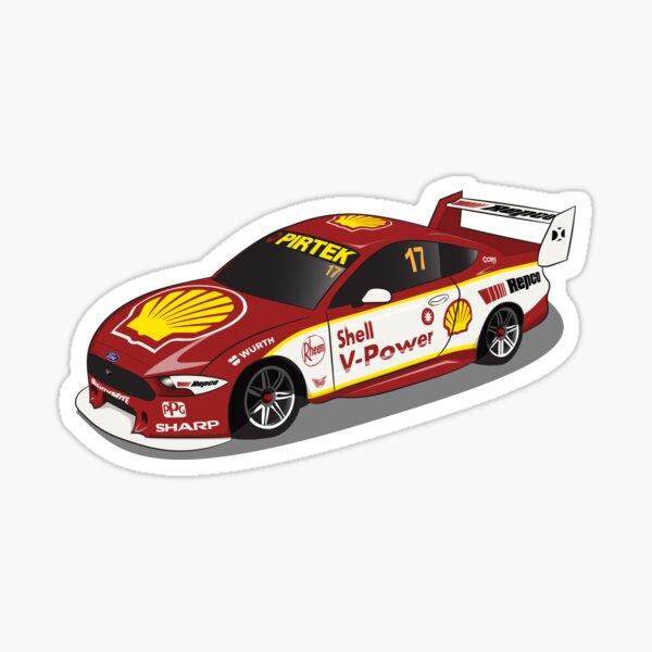 Scott McLaughlin 17 Ford Mustang 2019 Sticker