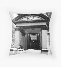 Chicago Blizzard 2011 Throw Pillow