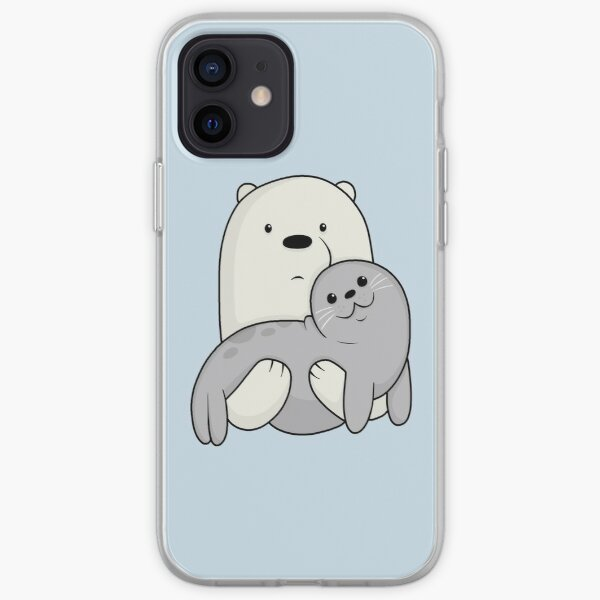 Ice Bear and Seal  iPhone Soft Case