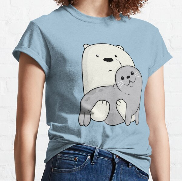 Ice Bear and Seal  Classic T-Shirt