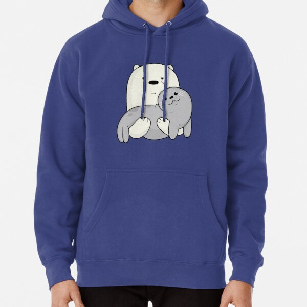 Ice Bear and Seal  Pullover Hoodie