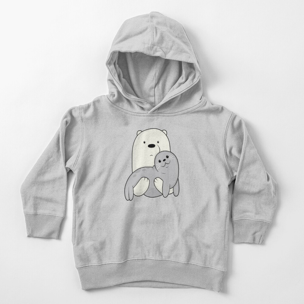 Ice Bear and Seal  Toddler Pullover Hoodie