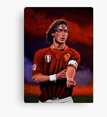 Francesco Totti painting Canvas Print