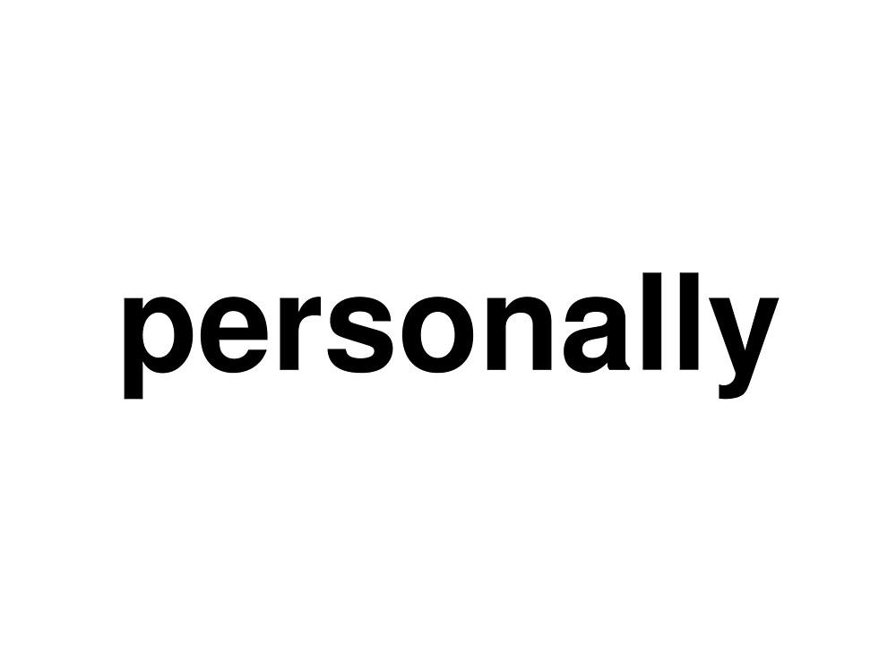 personally by ninov94