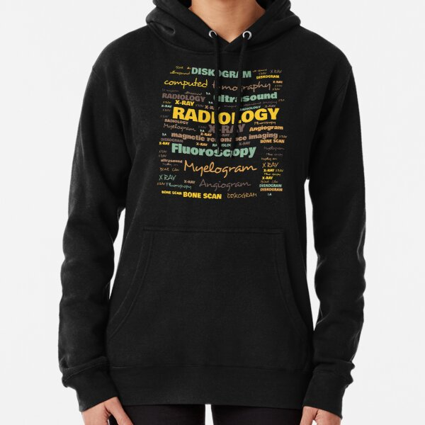 Radiologie-Terminologie - Häufig verwendete Radiologie-Begriffe Hoodie