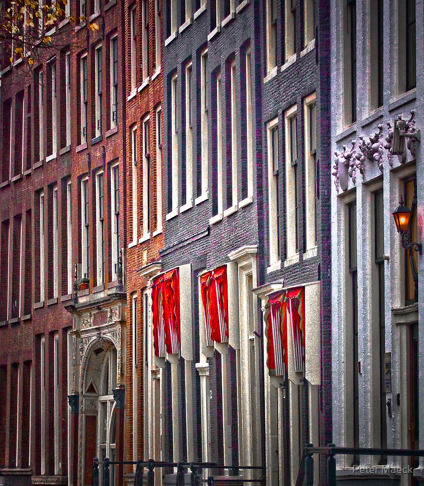 Amsterdam, Rozenstraat by Peter Maeck