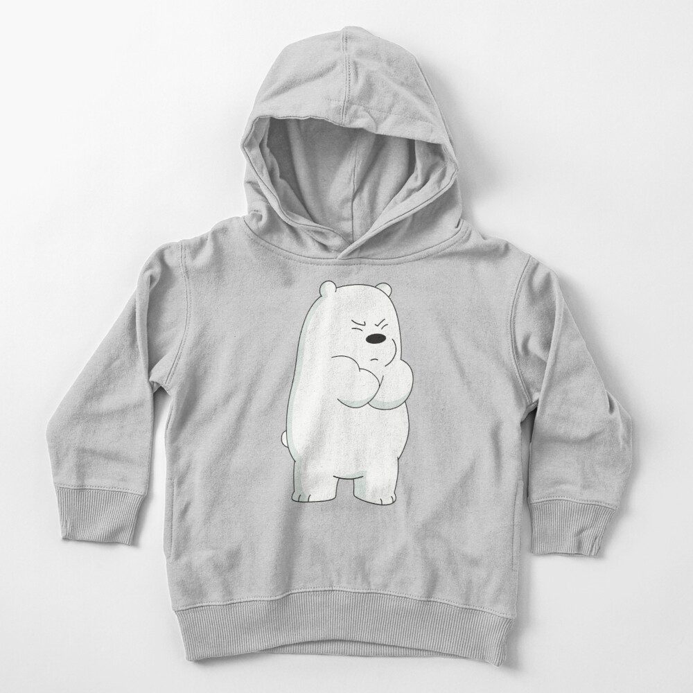 Ice Bear Toddler Pullover Hoodie