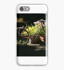 Bicycle in Shadows iPhone Case/Skin