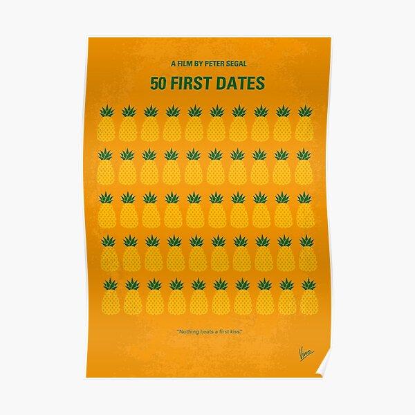 No696- 50 First Dates minimal movie      Poster