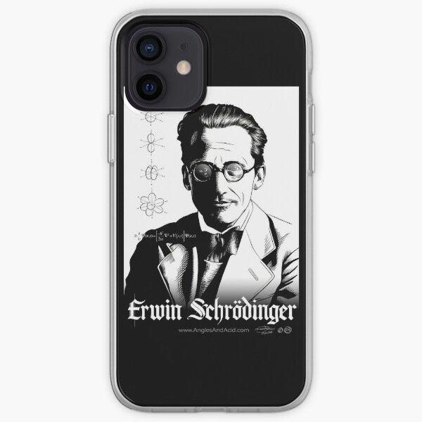 Erwin Schrödinger iPhone Soft Case