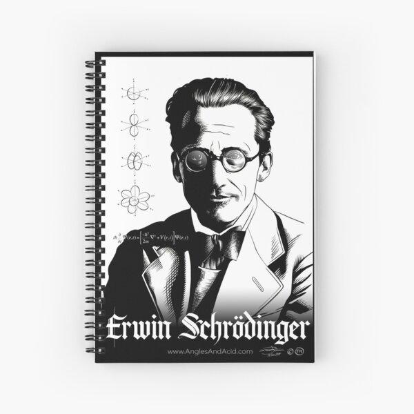 Erwin Schrödinger Spiral Notebook