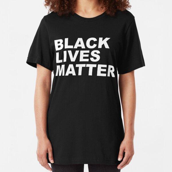 BLACK LIVES MATTER Slim Fit T-Shirt