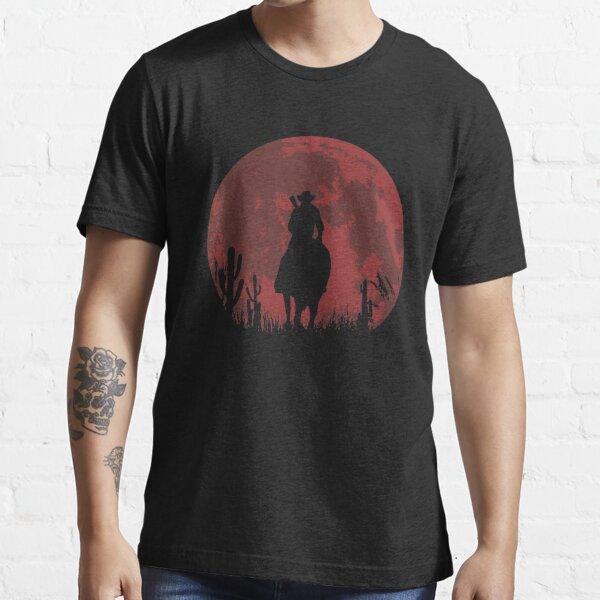 lune rouge T-shirt essentiel