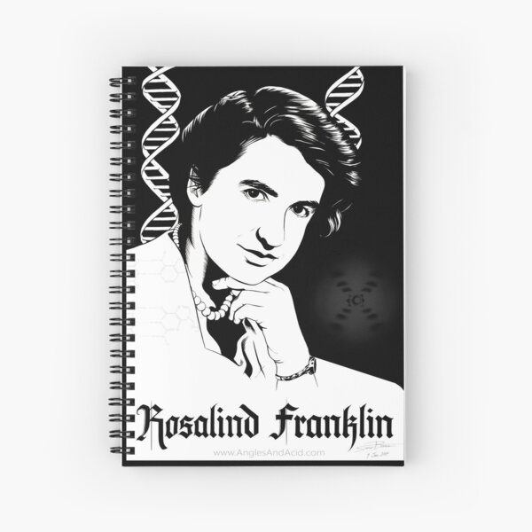 Rosalind Franklin Spiral Notebook
