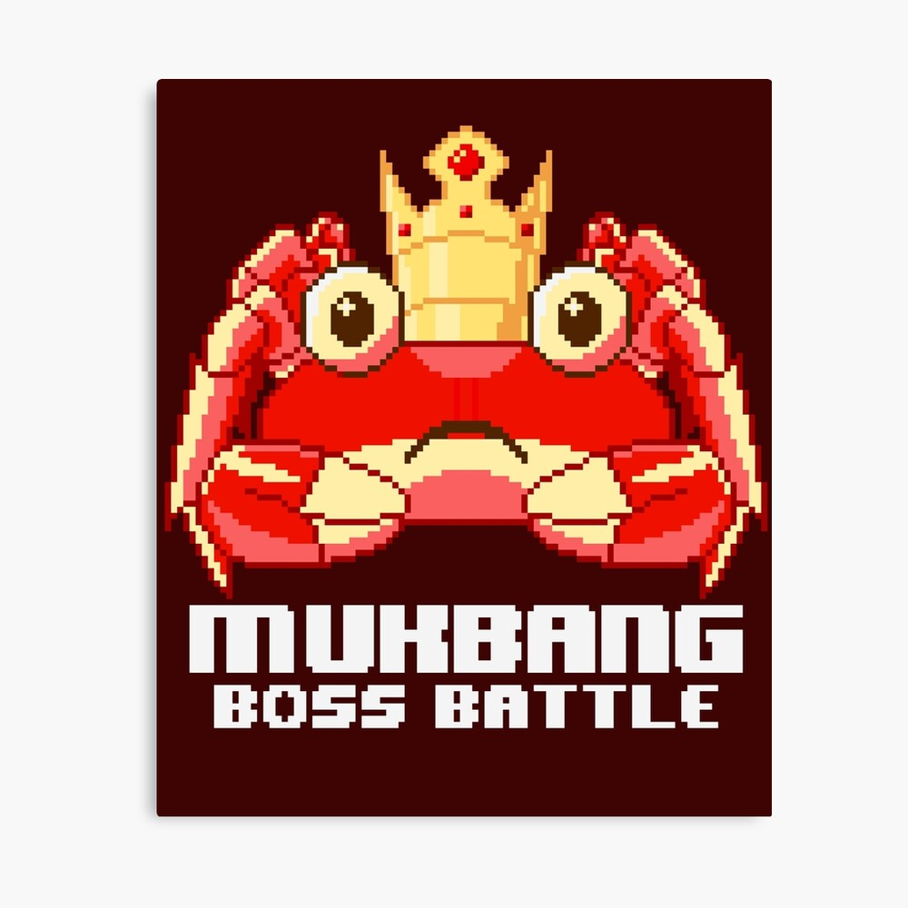 MUKBANG - KING CRAB Boss Battle ...
