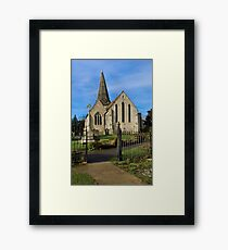 All Saints Welcome Framed Print
