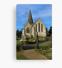All Saints Welcome Canvas Print