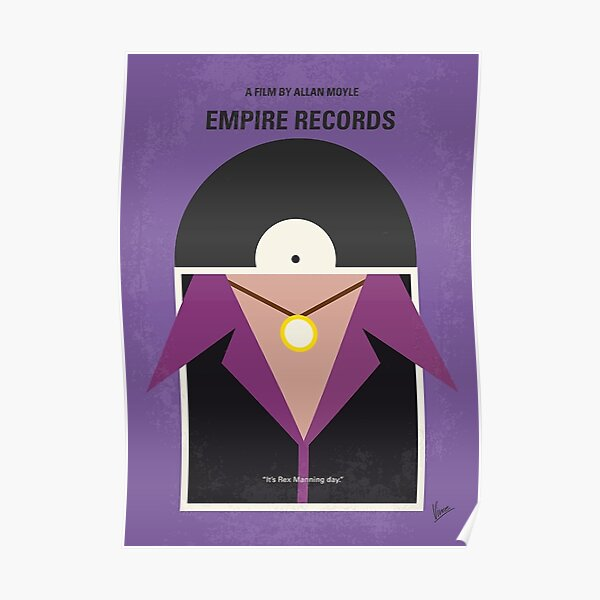 Empire Records FRIDGE MAGNET movie poster