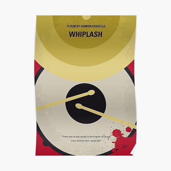 No761- affiche du film Whiplash minimal Poster