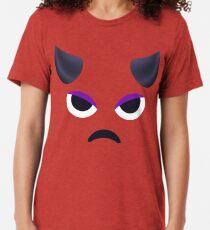 Emoji: Lila Gesicht Hörner Vintage T-Shirt