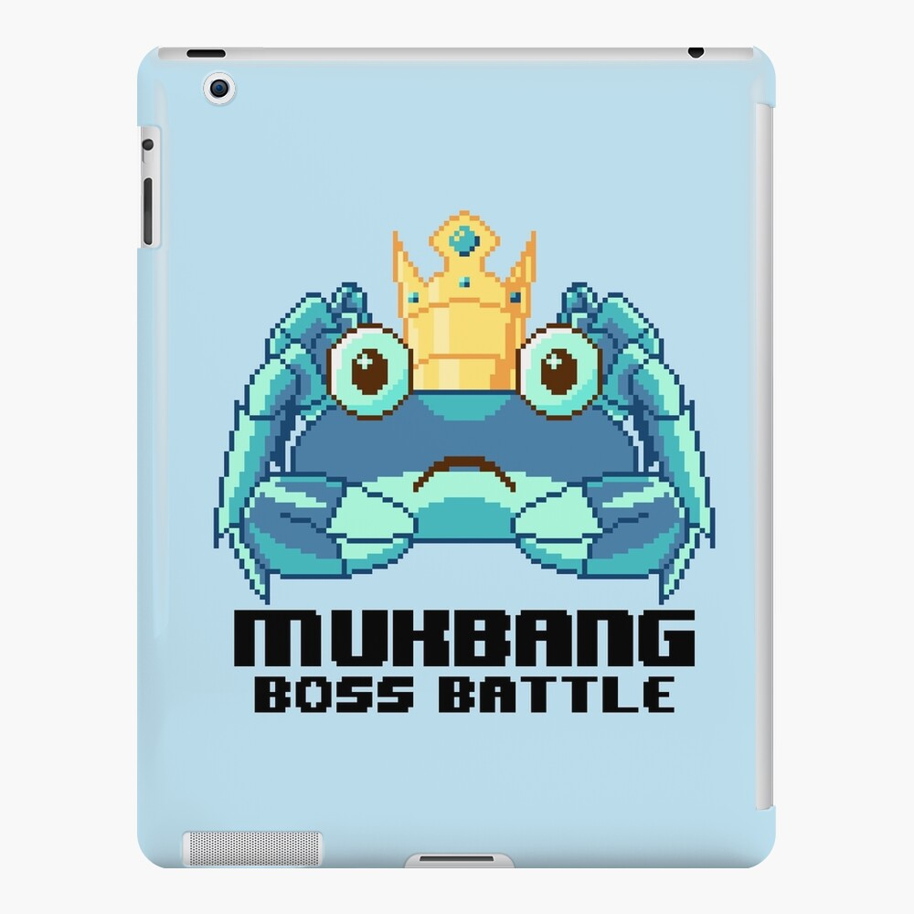 MUKBANG - KING CRAB (BLUE) Boss Battle! iPad Case & Skin