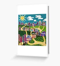 'Community' Greeting Card