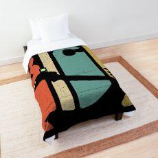 Vintage Rick Sanchez  90s and 80s Style Comforter