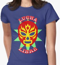 Lucha Libre Women's Fitted T-Shirt