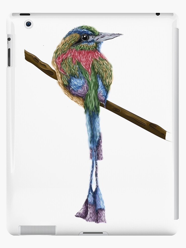 Digital Colorful Bird by jessicahodgson