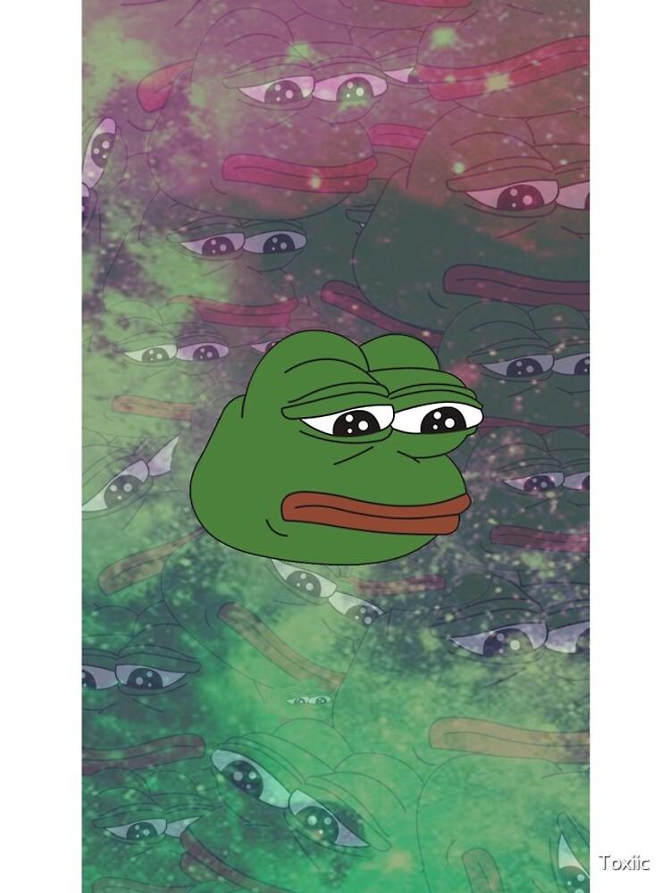 Rare Galaxy Pepe (Meme) by Toxiic