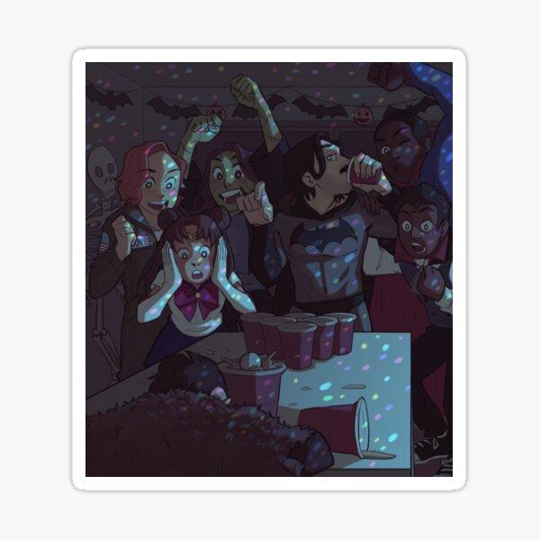 Halloween party pt 3 Sticker