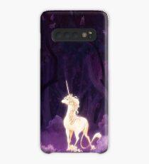 Unicorn in a Lilac Wood Case/Skin for Samsung Galaxy