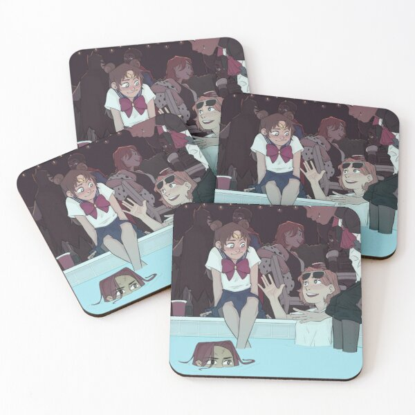 Halloween party pt 4 Coasters (Set of 4)