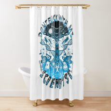 Don't Fuck With Me I'm A Scientist Shower Curtain