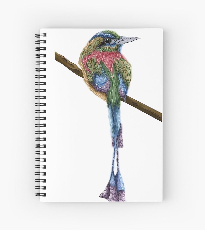 Colorful Bird by jessicahodgson