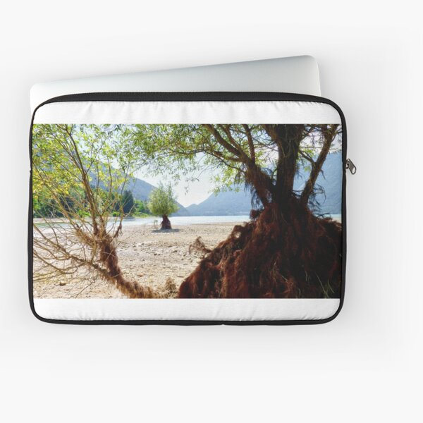 Alien Landscape - Italian lake Laptop Sleeve