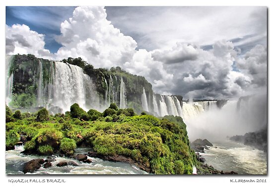 Iguazu Falls - Brazil by riverboy